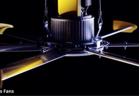 Đánh giá quạt trần công nghiệp nhà xưởng Powerfoil D